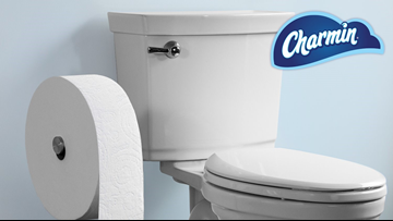 Charmin introduced giant toilet paper roll it says lasts a month