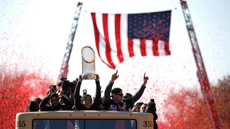World Series Nationals Parade Baseball
