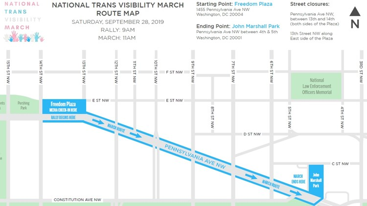 National Trans Visibility Rally & March