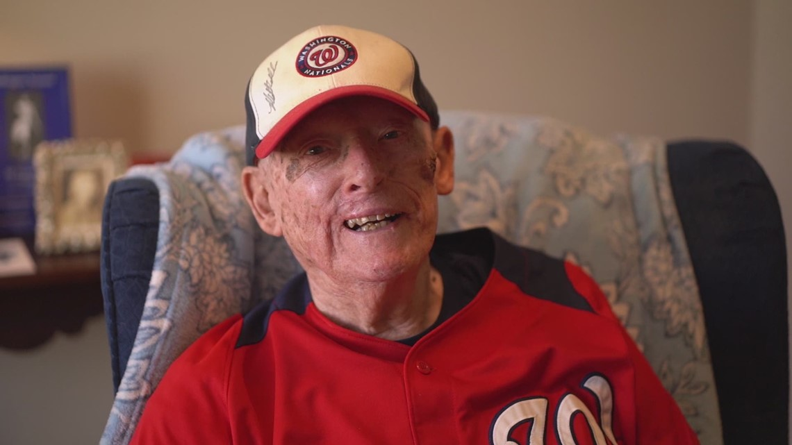 Meet the 95-year-old man and lifelong DC baseball fan who wants to throw the first pitch of a Nats World Series game