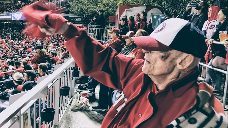 This 95-year-old man and lifelong DC baseball fan wants to throw the first pitch of a Nats World Series game