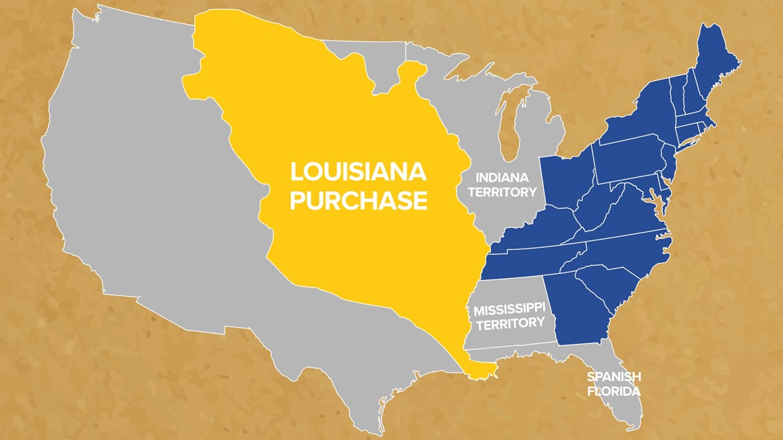 This Week In History: Why did the US purchase Louisiana?