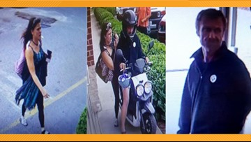 'Bonnie and Clyde' couple make getaway on moped after stealing clothes from Virginia thrift store