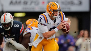 Top 25: LSU No. 1 ahead of Alabama, Ohio St in close vote