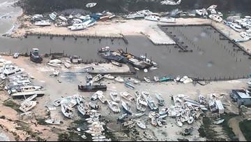 Videos, photos show destruction in Bahamas as Hurricane Dorian moves north