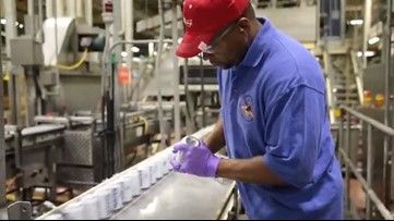 Anheuser-Busch delivering 300,000 cans of emergency drinking water for Florence relief
