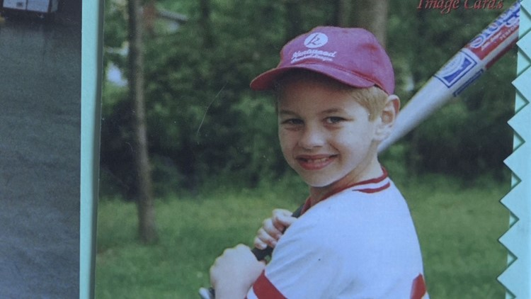 Cody as a child.