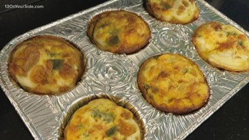 National Nutrition Month: Breakfast Egg Muffins