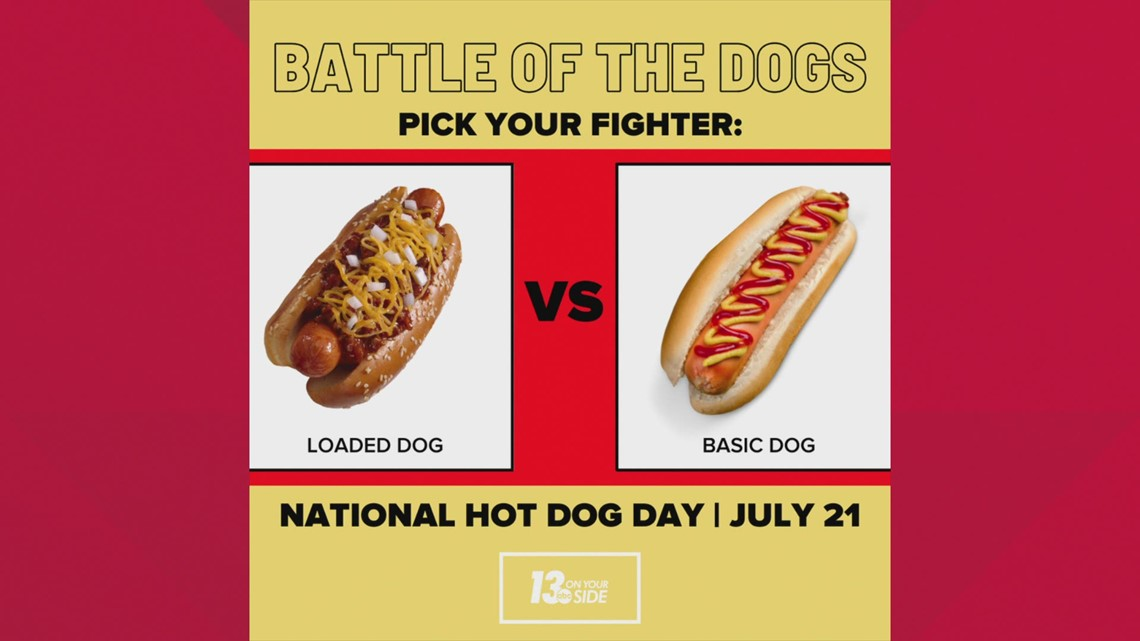 13OYS Mornings: What's your favorite hot dog topping?