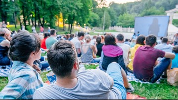Catch a free movie in a park this weekend
