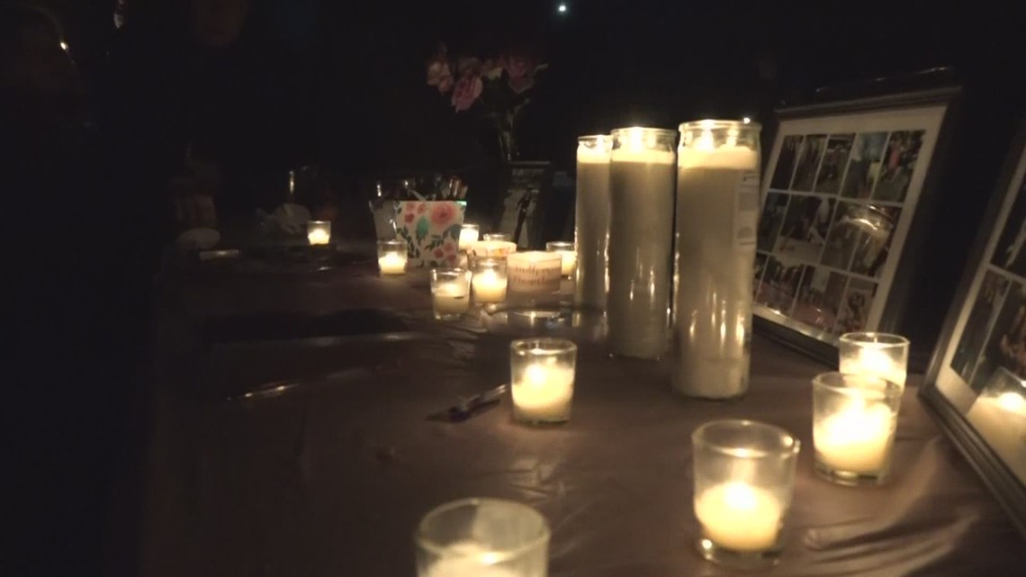 Vigil held for child struck by car