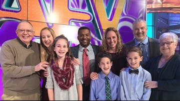 A West Michigan family is a finalist on America's Funniest Home Videos