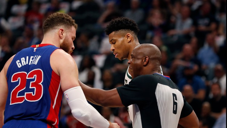 Bucks sweep the Pistons, knocking them out of the playoffs
