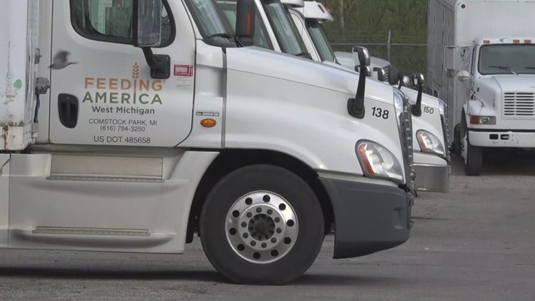 Truckers wanted: Feeding America West Michigan looking to hire drivers