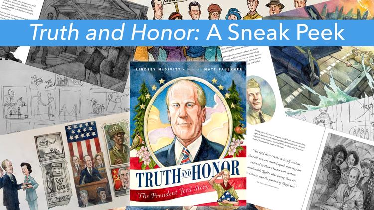 Illustrator shares inspiration behind children's book about President Gerald R. Ford