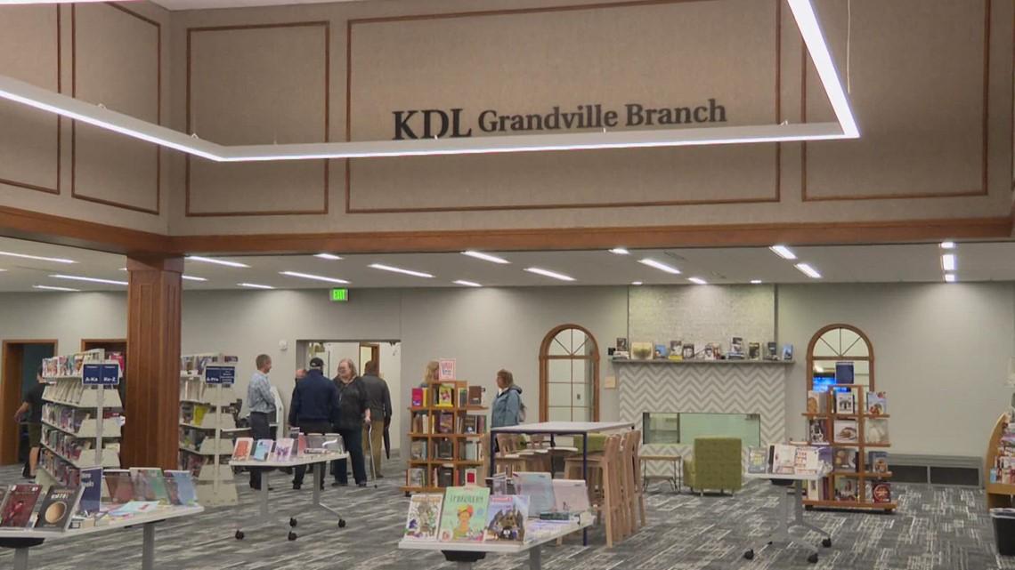 13 Reads: Grandville celebrates library expansion