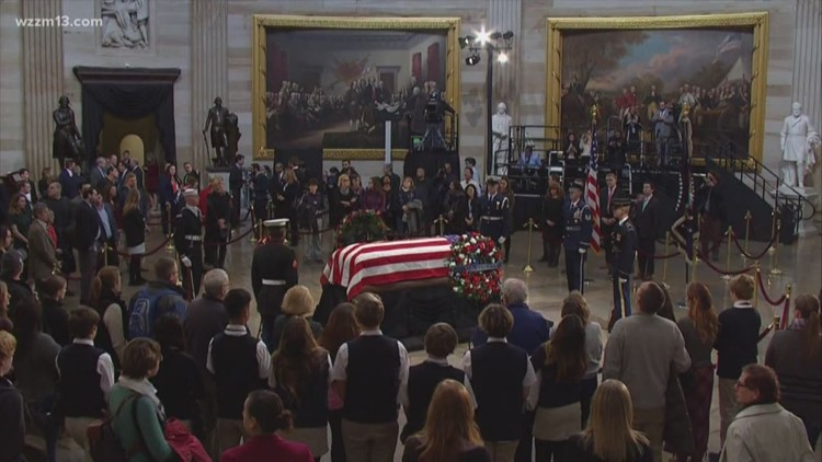 funeral planner for ford reminisces during bush s ceremonies