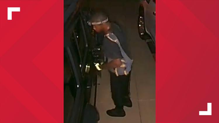 Silent Observer offering reward for information on serial vehicle burglar