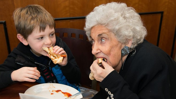 Founder of Olga's Kitchen dies at the age of 92
