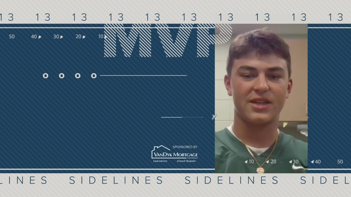 13 On Your Sidelines MVP for Week 2