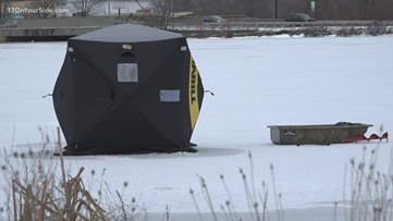 DNR: Ice conditions may prompt removal of fishing shanties