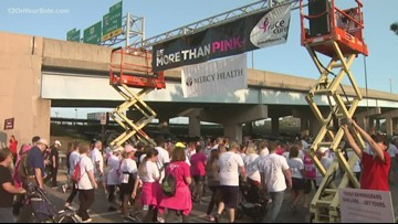 Getting ready for Komen Michigan's 'More than Pink walk'