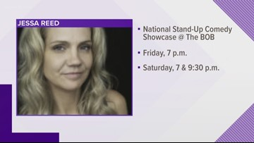 Last weekend of Laughfest, interview with Jessica Reed
