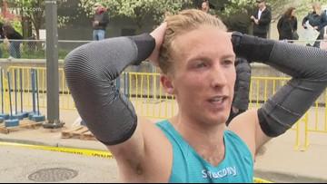 Amway River Bank Run winner breaks record