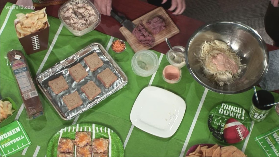 Delicious Super Bowl party foods