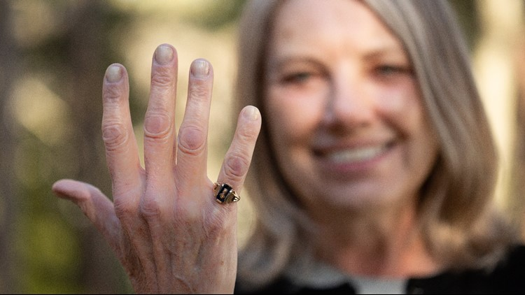 Monique Timmer-Ciofu is a member of South's 'Lost class of 1969.' When South High closed, she ended up graduating from Union High School. Monique's heart was always at South, evidenced by her class ring that she never got re-engraved.
