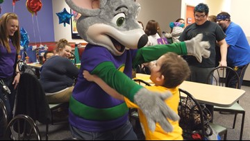 8-year-old brain cancer survivor gets the birthday party he deserves