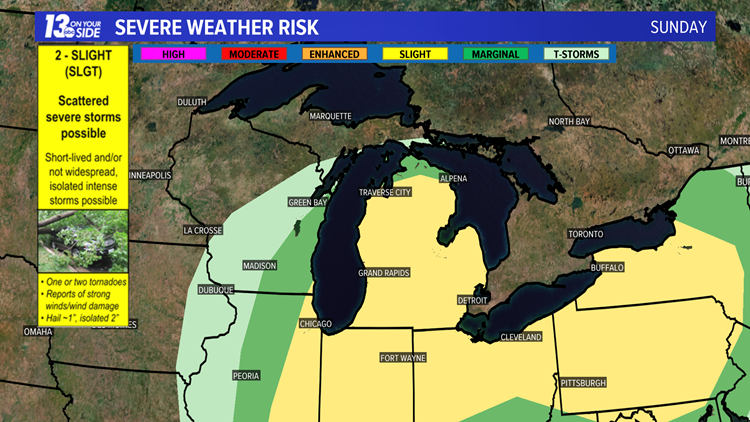 Sunday Convective Outlook
