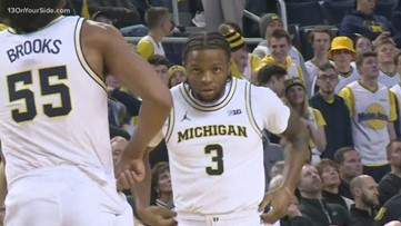 Michigan point guard honored by Big Ten