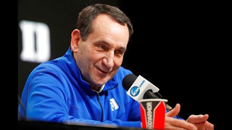 AP source: Duke's Krzyzewski to coach last season in 2021-22