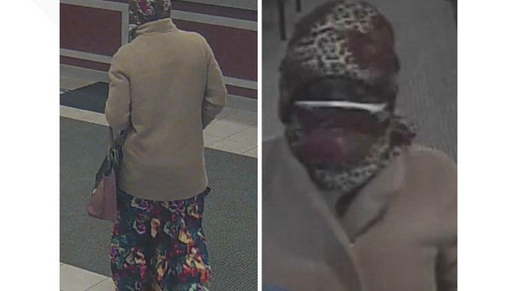 Police looking for suspect  after two bank robberies in Kent County
