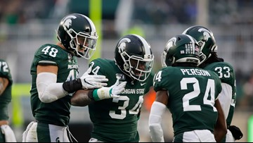 Michigan State bowl eligible after edging Maryland 19-16