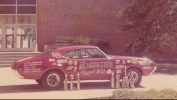 Missing since 1974, Michigan State alums launch statewide search to find long-lost car