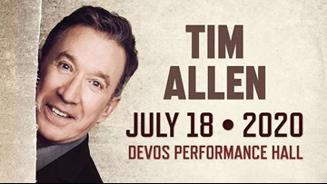 Michigan native Tim Allen to perform at DeVos Performance Hall in July 2020