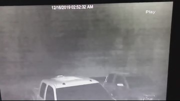 Lowell house explosion security footage