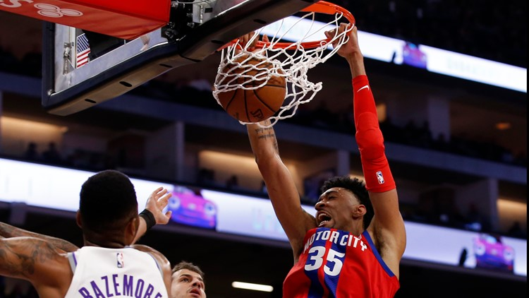 Sacramento Kings come back from 17 down to beat Pistons 106-100
