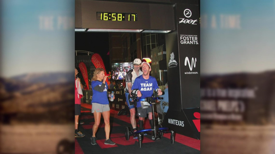 From Wheelchair-bound to Ironman Athlete: Rockford's Johnny Agar releases new, inspirational book