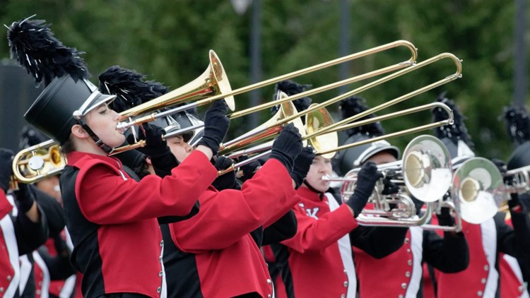 east kentwood high school marching band