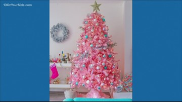 The Chat: Pink Christmas trees?!