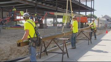 Last beam laid on Southwest Community Campus expansion