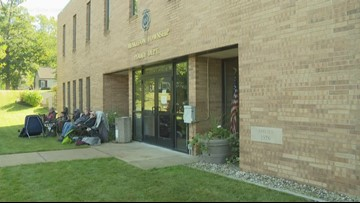 Line forming 10 days before marijuana licenses can be passed out in Muskegon, Muskegon Twp.