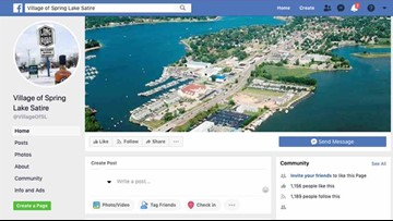 'A thorn in our side': Fake Village of Spring Lake Facebook page taken down