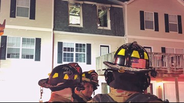 Butane torch blamed for fire at Copper Beech Townhomes