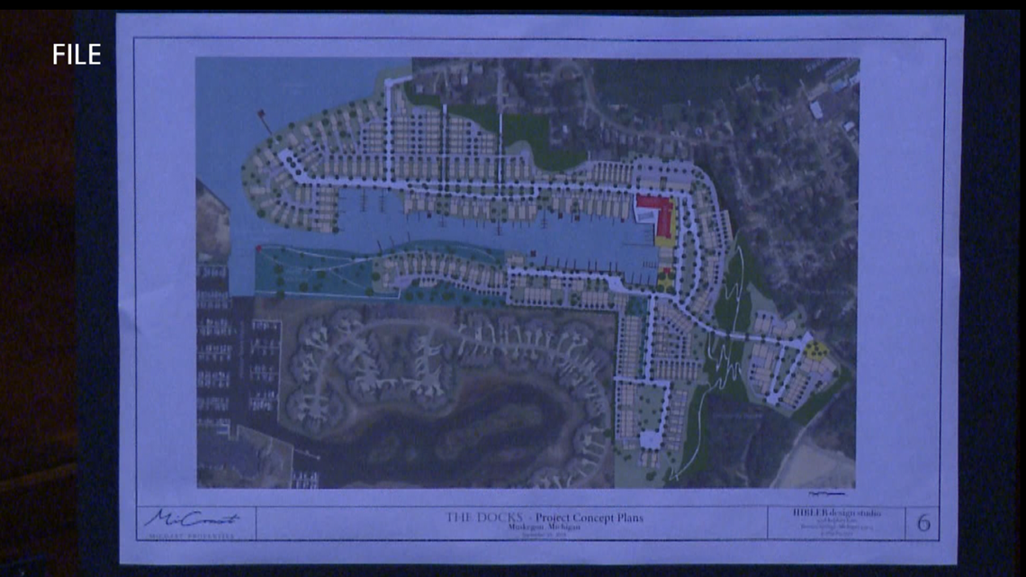 'The Docks' housing development approved by Muskegon Planning Commission