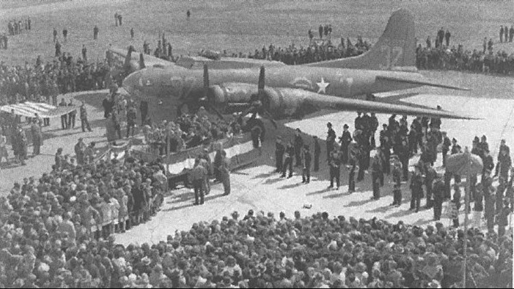 In 1943, an 8th grader at South High School suggested the student body generate funds to buy a B-17 bomber to help in the war. Over three months, the students raised $350,000. The plane was purchased and named, 'The Spirit of South High.'