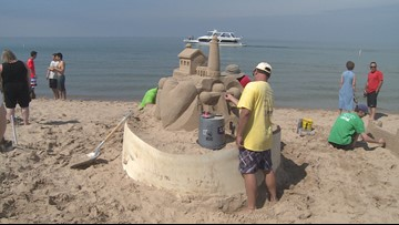 What's Up This Weekend: Blueberry Fest, princess parties, sand sculptures and more